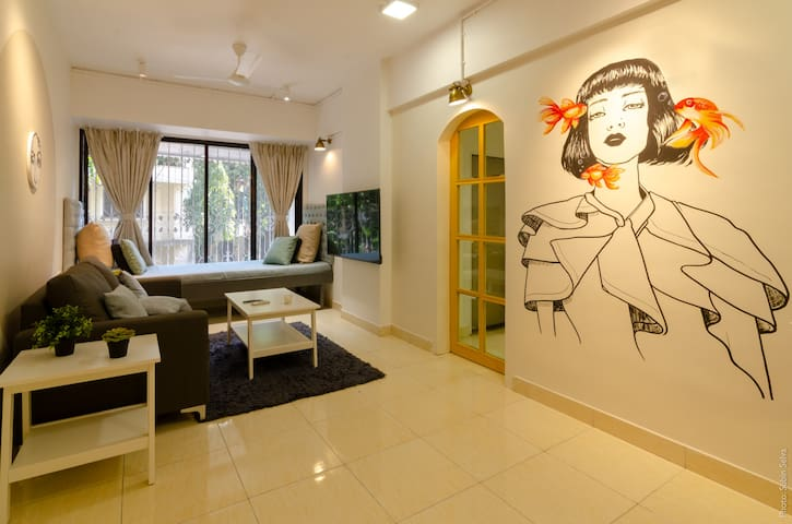 Zest - Beautifully done up 1BHK [Sanitized]