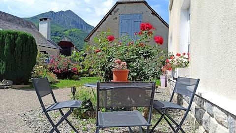 Apartamento 4 pers. en Val d 'Azun - vistas a la montaña