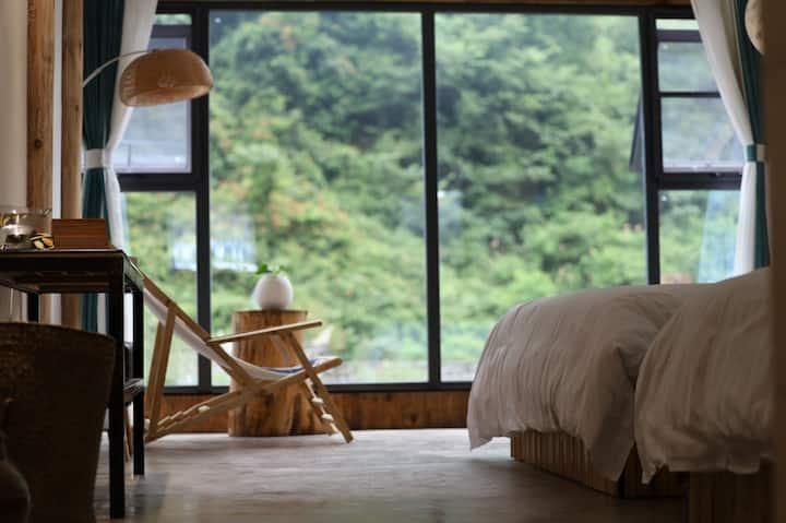 丹寨石桥纸居——皮纸豪华观景双大床房