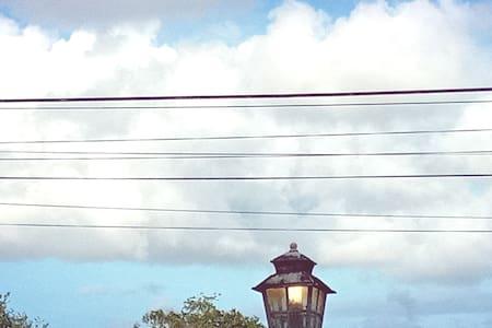 lampadaires aux portails