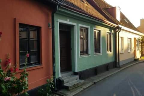 Cozy street house in the center of Ystad