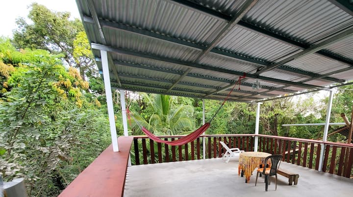 Secluded Jungle Studio with Huge Balcony