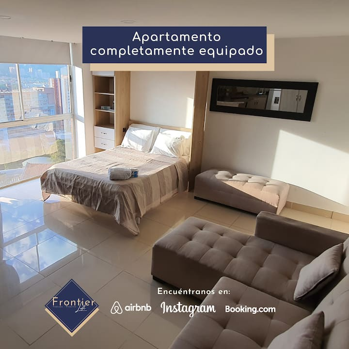 Loft (Full Furnished) - INCREDIBLE VIEW - Floor 13