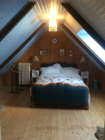 Double bedroom with corbiere bed
