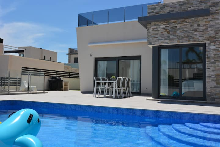 Hillside Luxury Villa, Balcón de Finestrat