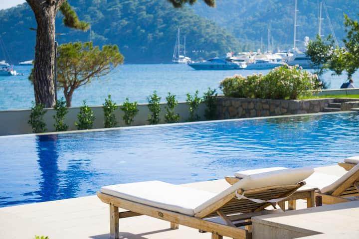 Göcek Safir'de Deniz Manzaralı  3+1 Lüks Villa
