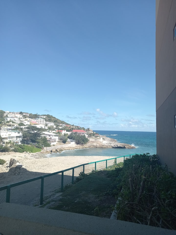 Modern Condo Close to Philipsburg with Ocean View