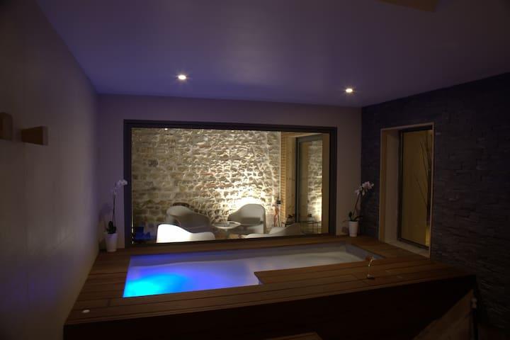 Maison privative de luxe - SPA Hamman Sauna