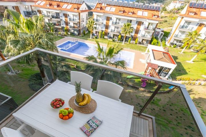 Luxury apartment 10 minutes away from Oludeniz