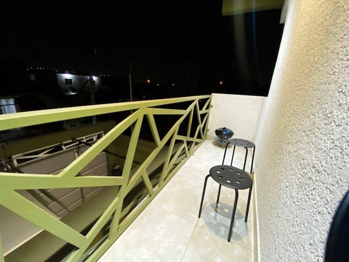 Familiar, balcón con asador, garage, apto p niños