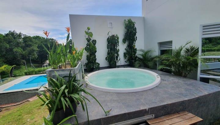 Casa Boutique Tropical 2 mins de Carmen de Apicalá