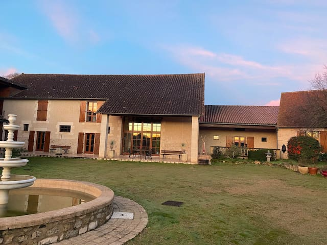 Forge in France. 7 bedroom house with indoor pool