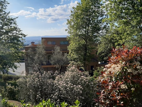 Idyllic resort at the river Cavado valley