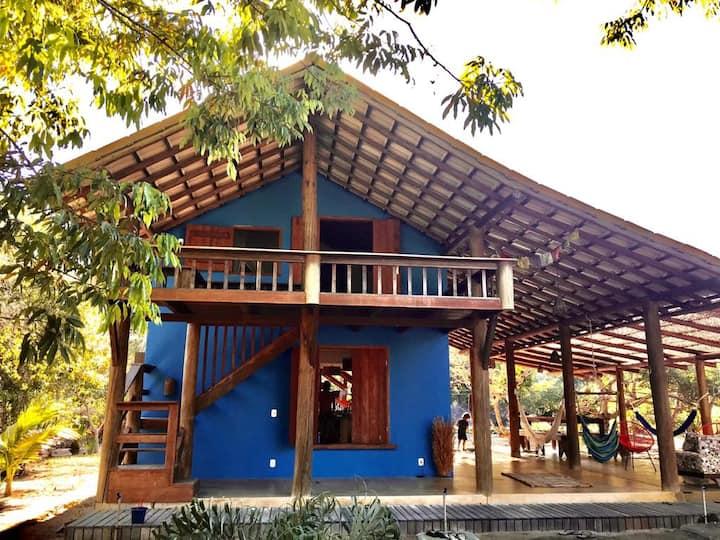 Casa Azul Meu Amor Caraiva/Jambreiro