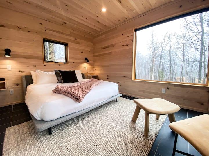 Modern Tiny House + Sauna at Wild Rice Retreat