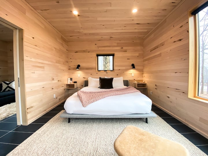The Nest Tiny House + Sauna at Wild Rice Retreat