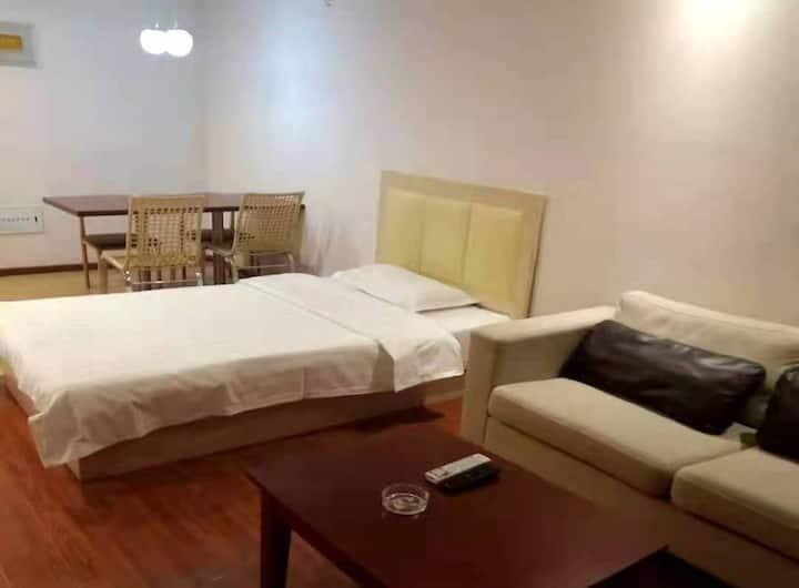 汤Inn公寓(张家口四季小镇店)/公寓豪华家庭房/近滑雪场2