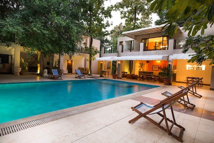 5BHK Premium Villa with Pool - 3 mins ALIBAG Beach