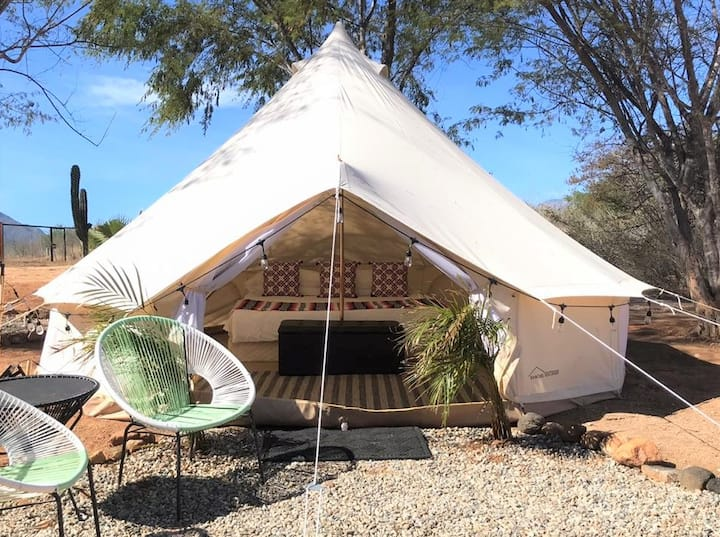 Cabo Oasis Glamping Escape Yurt 1