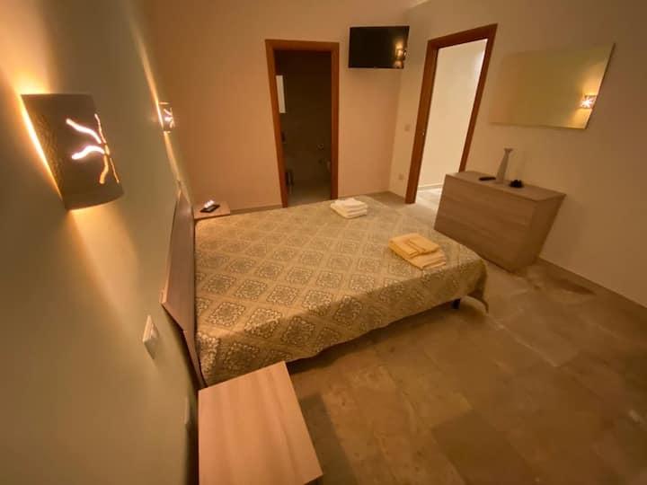 Sant'Adoeno Apartment, blue room.