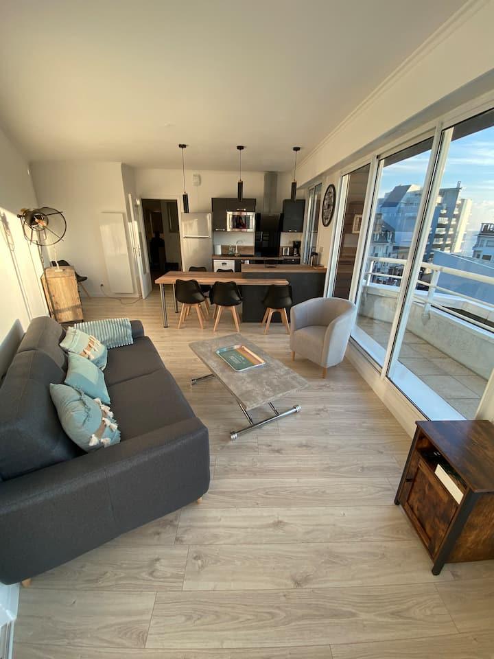 Très bel appartement T3 à 50 m de la plage