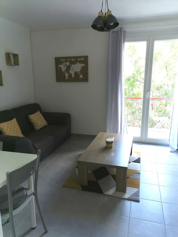 Jolie appartement près du centre ville d'Alès