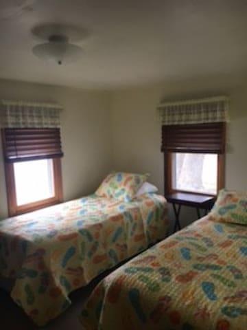 Bedroom # 1 Twin beds bedroom
