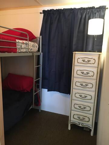 Bedroom #3 Kids bunk bed bedroom