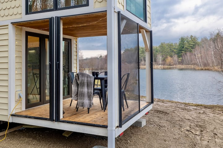 HGTV Tiny Home⭐️2 hrs from NYC⭐️Quiet Oasis⚡️WIFI