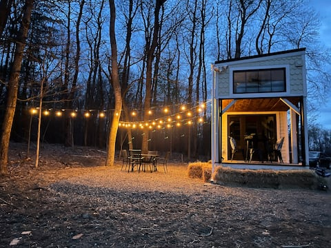 HGTV Tiny Home►️ 2 horas NYC🌲Quiet Oasis►️WIFI✨LIMPO