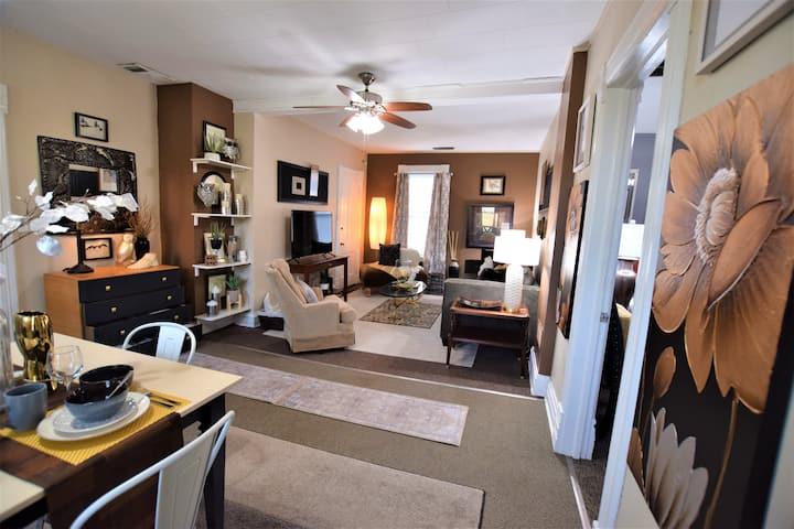 Location, convenience, design, comfort, experience