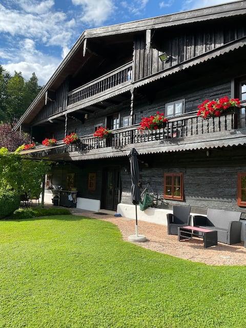 Fuschl am See: Kétágyas szoba erkéllyel és kilátással a tóra
