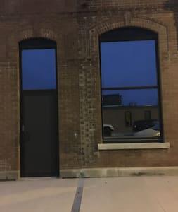 """The front door is 36"""" wide and so is the bathroom door."""