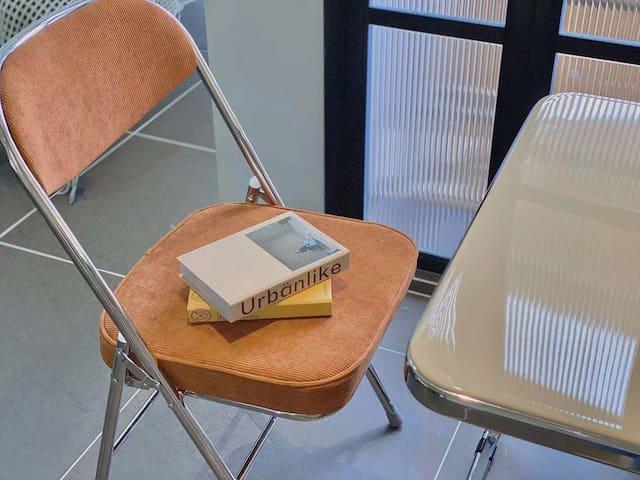一个可以安静读书办公的空间