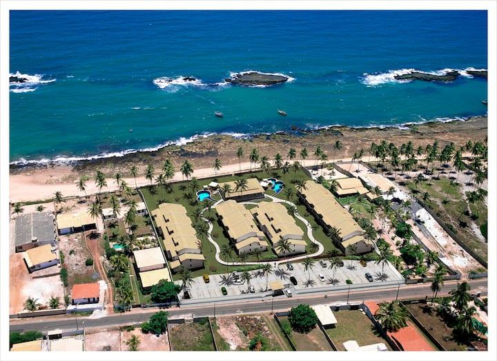 Duplex beira mar,  piscina wi-fi e ar condicionado