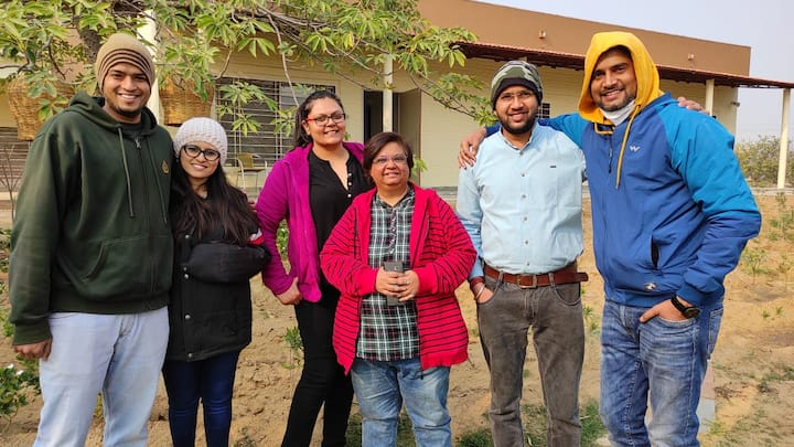 UTNT The Farm | 2 Bedroom Farm Stay | Jaipur NH