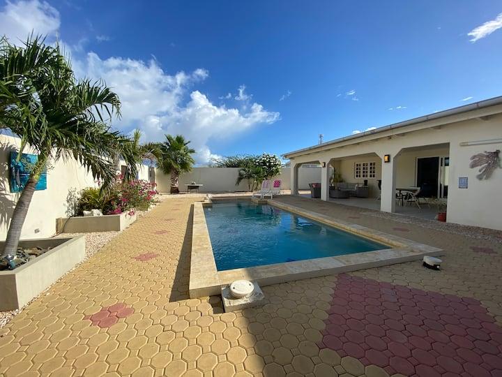 Sunny Palm Beach villa