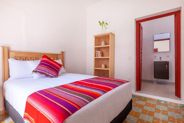 """""""Pureza"""" habitación privada para 2 huéspedes"""