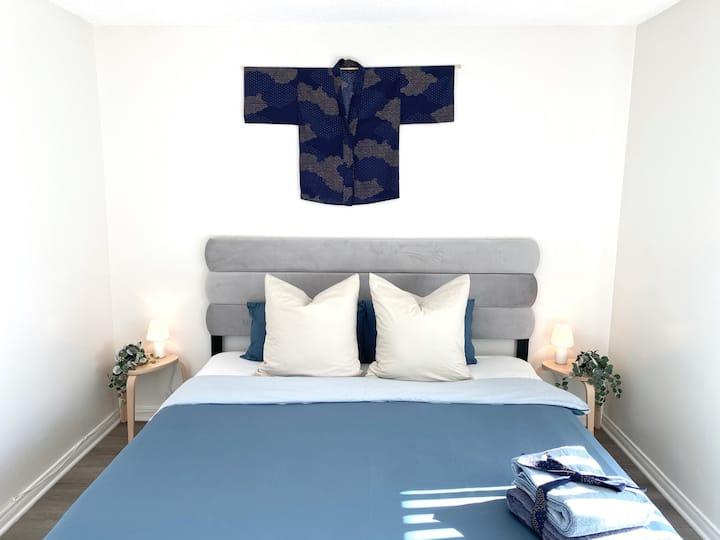 TOKYO hotelstyle CLEAN n QUIET w KING bed nr BEACH