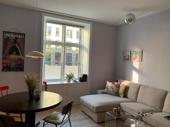 Cool two room apartment in the hip Vesterbro area