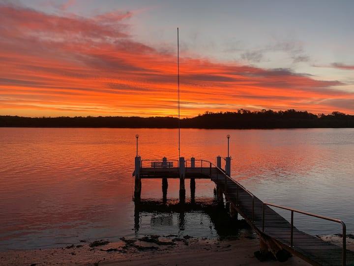 Riverside delight at Port Macquarie!