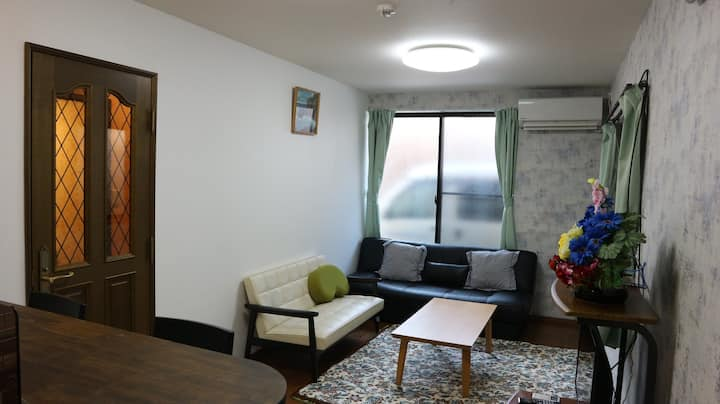 3bedRooms,戸建,屋上テラス,無料駐車場,83.62m2,wifi無料,築2年