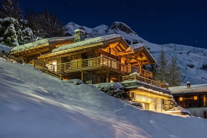 Ski-in Ski-out home with private balcony with views