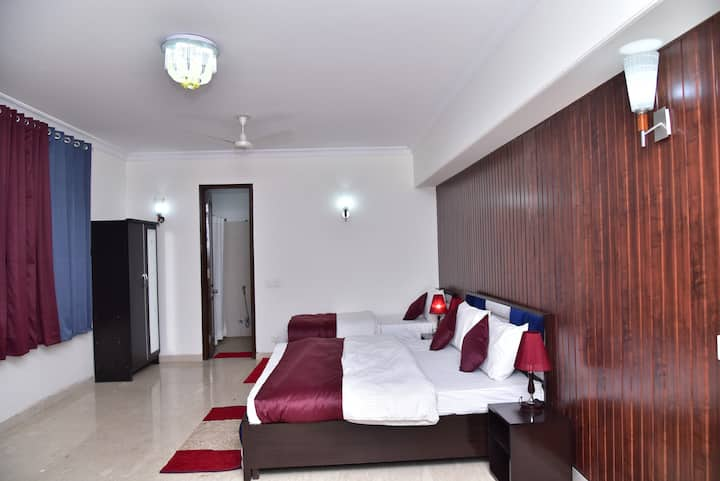 2 BHK with Private Terrace for Luxury Stay