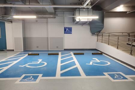 parkovacie miesto pre zdravotne postihnutých