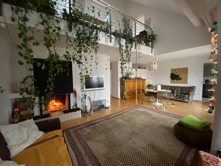 Beautiful 2 Story Roof Apartment