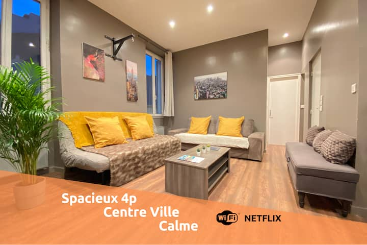 L'atelier by AndersLocation☆Spacieux☆Wifi-Netflix☆