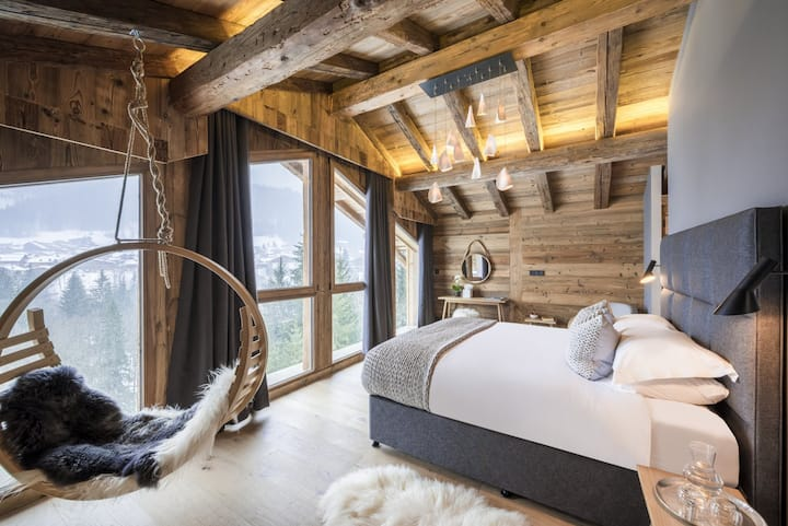 5 BDR  EXCEPTIONAL & LUXE chalet 12 pers