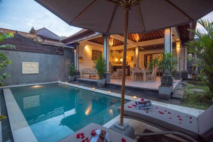 Secret Bunutan Ubud~2 Bedrooms Private Pool Villa