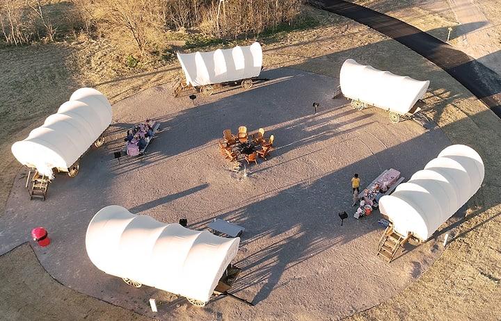 Conestoga Wagon for 4 at the Orr Family Farm